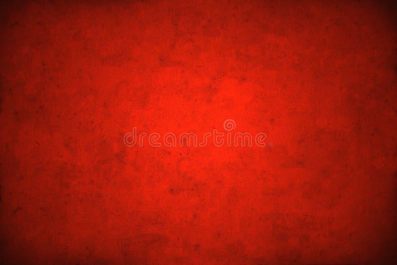 Priorità bassa rossa del grunge di natale illustrazione vettoriale