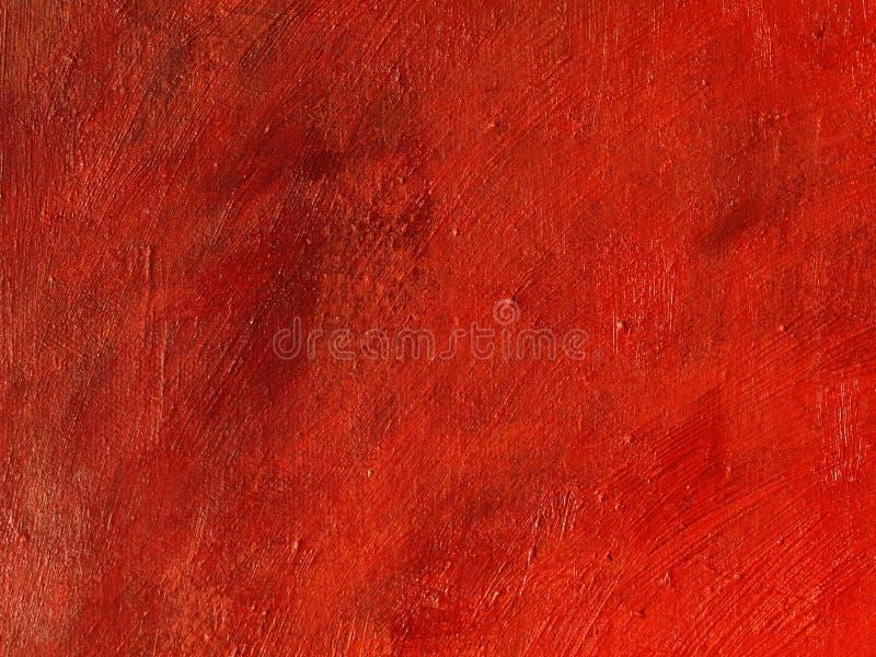 Priorità bassa rossa della pittura immagine stock