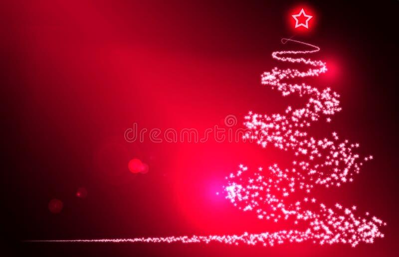 Priorità Bassa Rossa Di Natale Immagine Stock Libera da Diritti