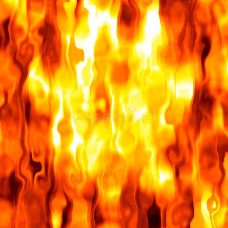 Priorità bassa rovente del fuoco illustrazione vettoriale