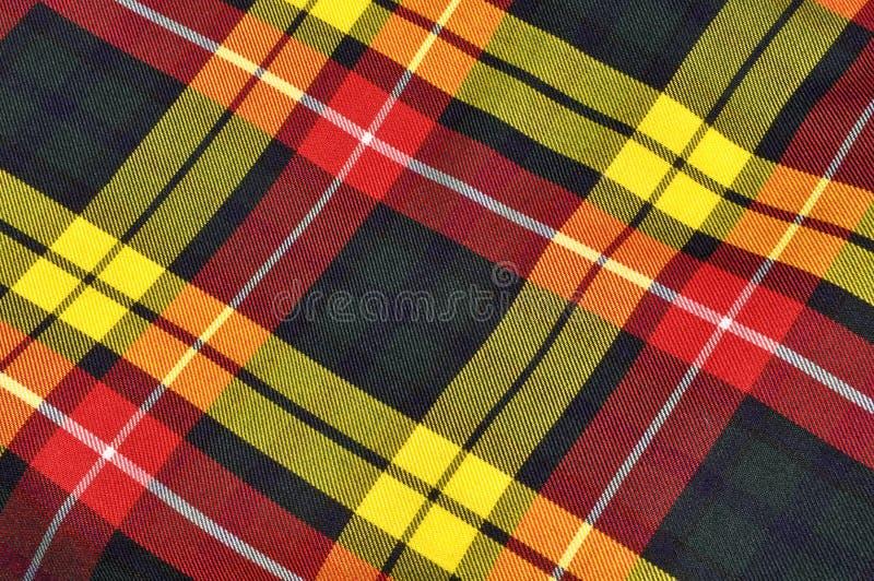 Priorità bassa scozzese del Kilt del plaid fotografia stock libera da diritti
