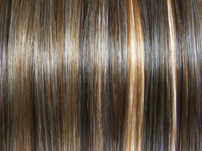 Priorità bassa scura di struttura dei capelli di punto culminante immagini stock libere da diritti