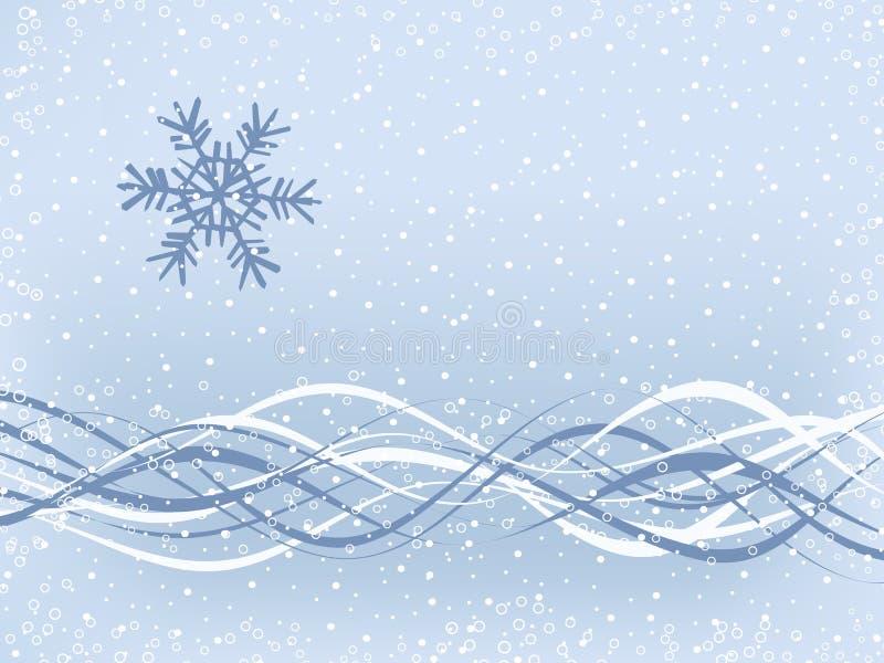 Priorità bassa semplice di inverno immagine stock