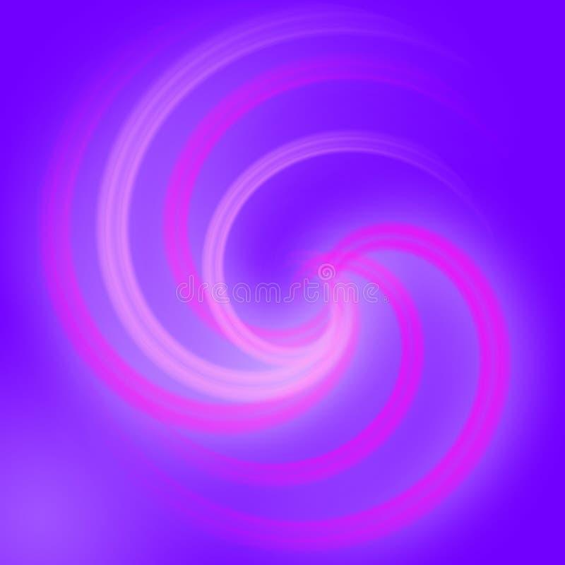 Priorità bassa a spirale astratta di effetto della luce royalty illustrazione gratis