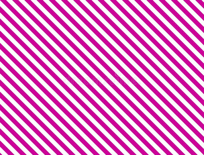 Priorità bassa a strisce diagonale di vettore EPS8 nel colore rosa illustrazione di stock