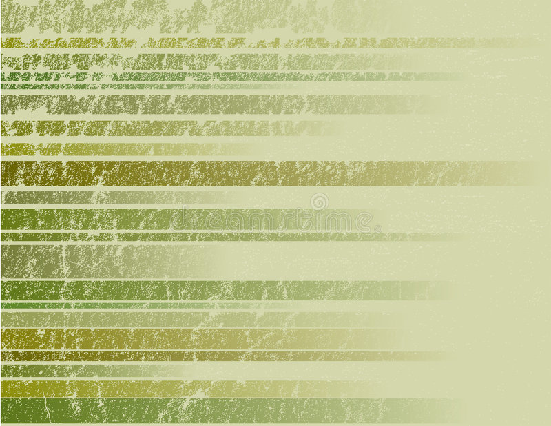 Priorità bassa a strisce verde di Grunge illustrazione di stock