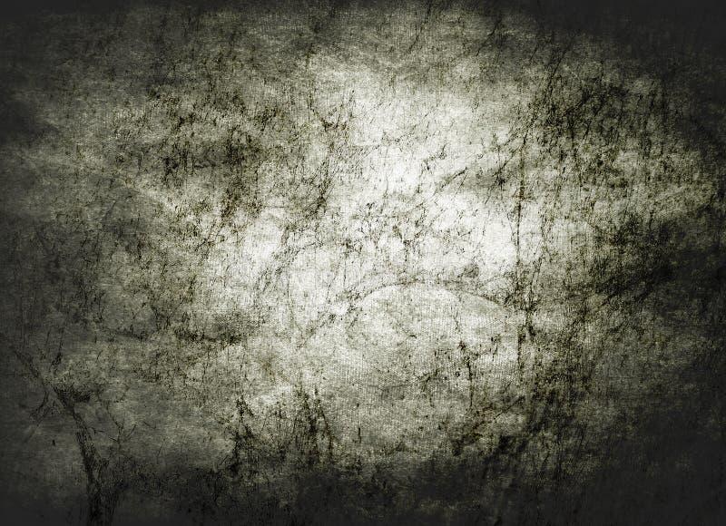 Priorità bassa strutturata del grunge scuro dell'annata immagini stock