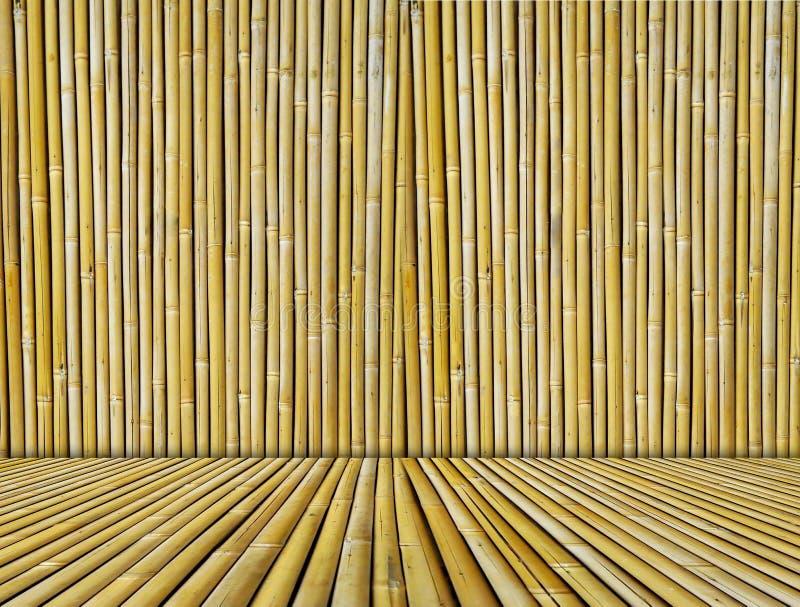 Priorità bassa strutturata di bambù fotografie stock libere da diritti