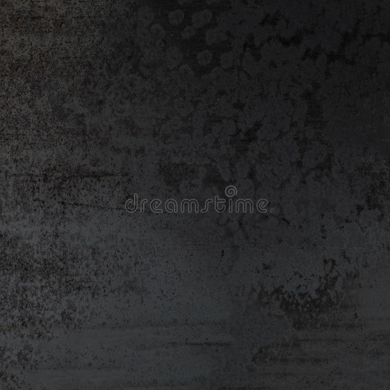 Priorità bassa strutturata nera astratta Parete di oscurità di Grunge fotografia stock libera da diritti