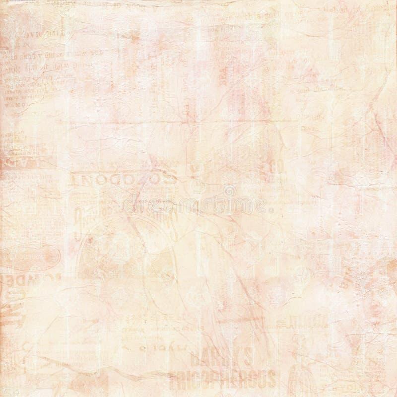 Priorità bassa strutturata verniciata tela di canapa misera dell'annata fotografie stock libere da diritti