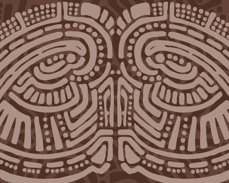 Priorità bassa tribale di disegno royalty illustrazione gratis