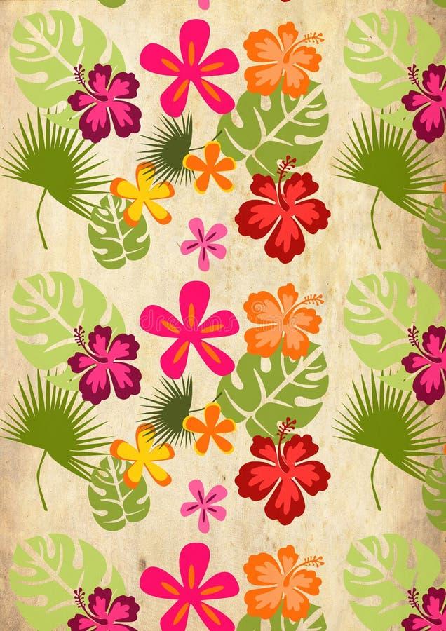 Priorità bassa tropicale royalty illustrazione gratis
