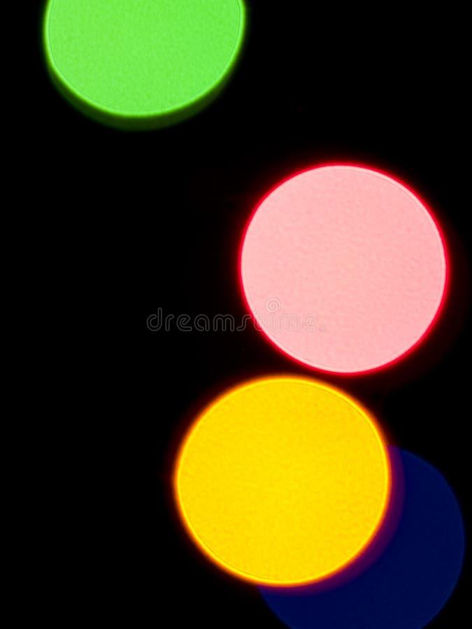 Priorità bassa variopinta degli indicatori luminosi immagini stock
