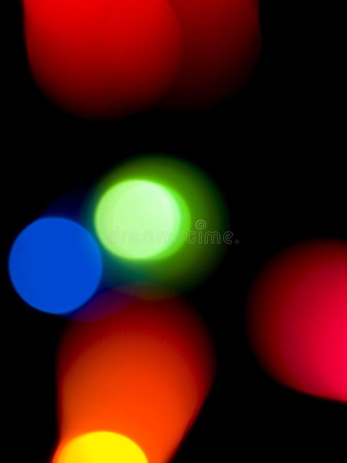 Priorità bassa variopinta degli indicatori luminosi fotografie stock libere da diritti