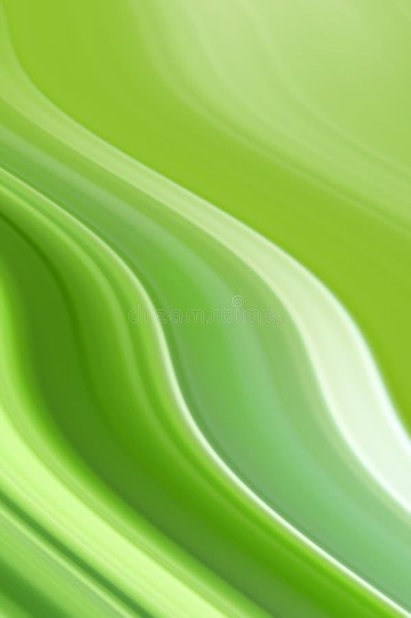 Priorità bassa verde illustrazione vettoriale