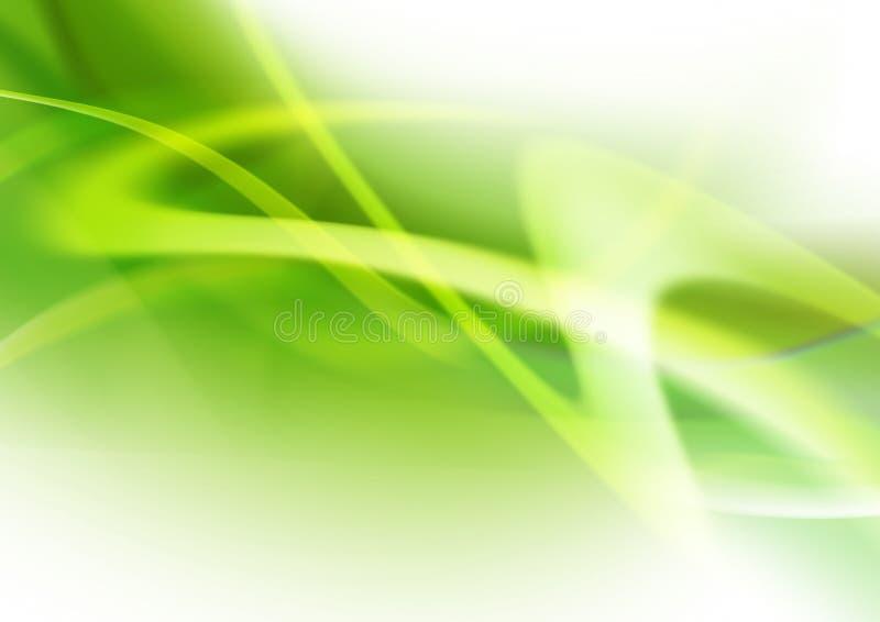 Priorità bassa verde astratta illustrazione di stock