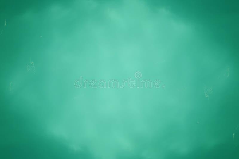 Priorità bassa verde astratta dell'acqua fotografia stock libera da diritti