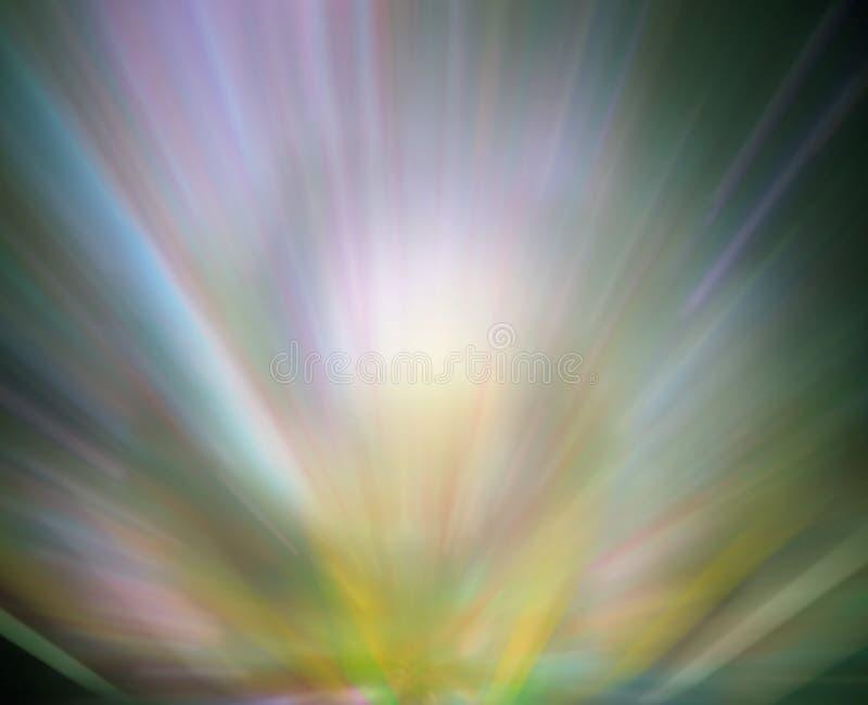 Priorità bassa verde chiaro dell'aurora illustrazione vettoriale