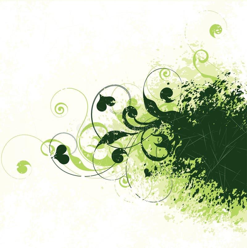 Priorità bassa verde dell'edera royalty illustrazione gratis