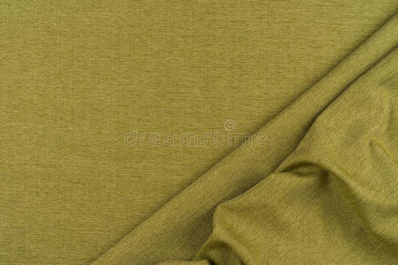 Priorità bassa verde di struttura del tessuto sottragga la priorità bassa fotografia stock libera da diritti