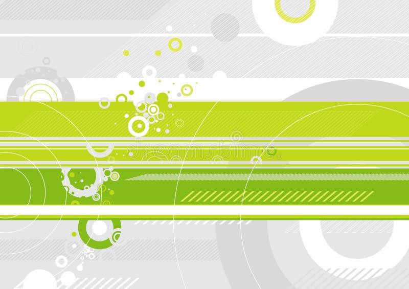 priorità bassa verde di vettore illustrazione vettoriale