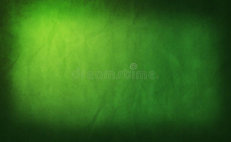 Priorità bassa verde Grungy illustrazione vettoriale