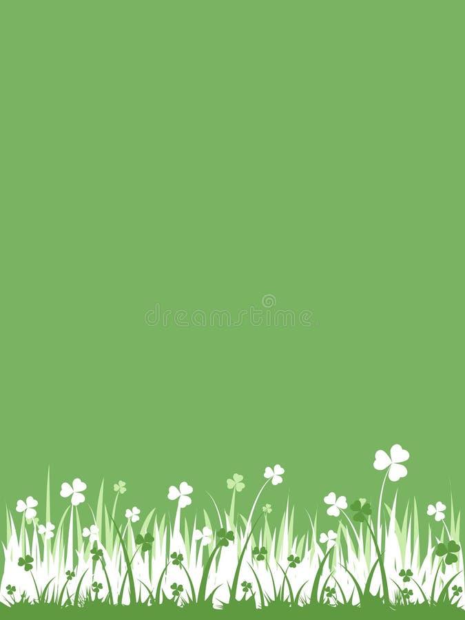 Priorità bassa verde (incl di vettore) immagini stock libere da diritti