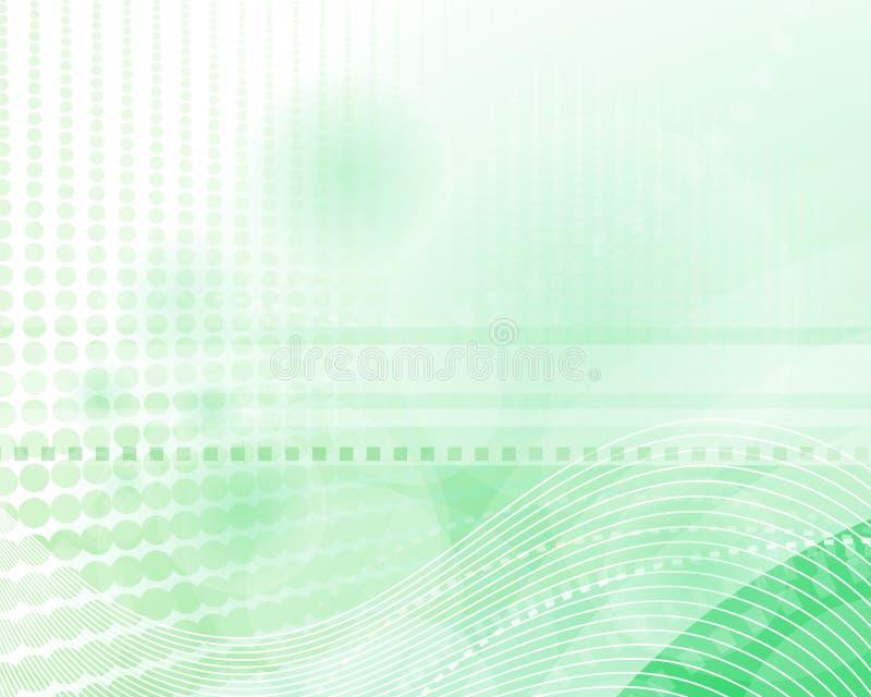 Priorità bassa verde moderna illustrazione di stock