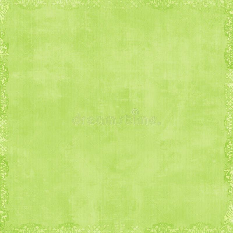 Priorità bassa verde molle dell'album illustrazione di stock