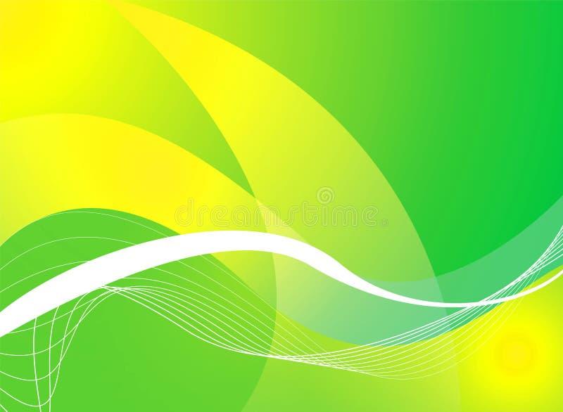 Priorità bassa verde piena illustrazione di stock