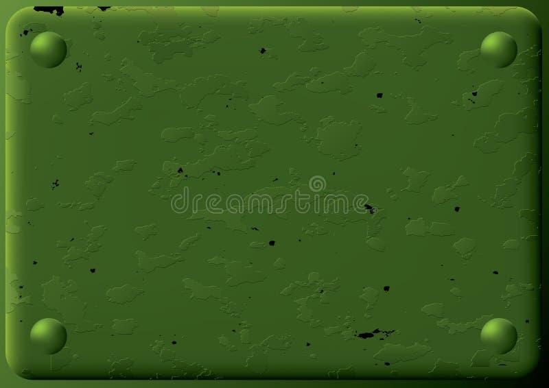 Priorità bassa - zolla corazzata. illustrazione vettoriale