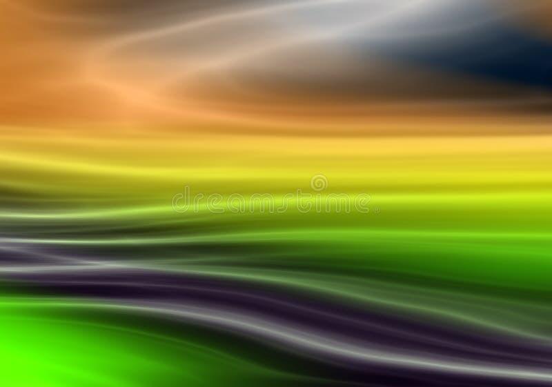 Priorit? bassa astratta con i colori del Rainbow fotografia stock