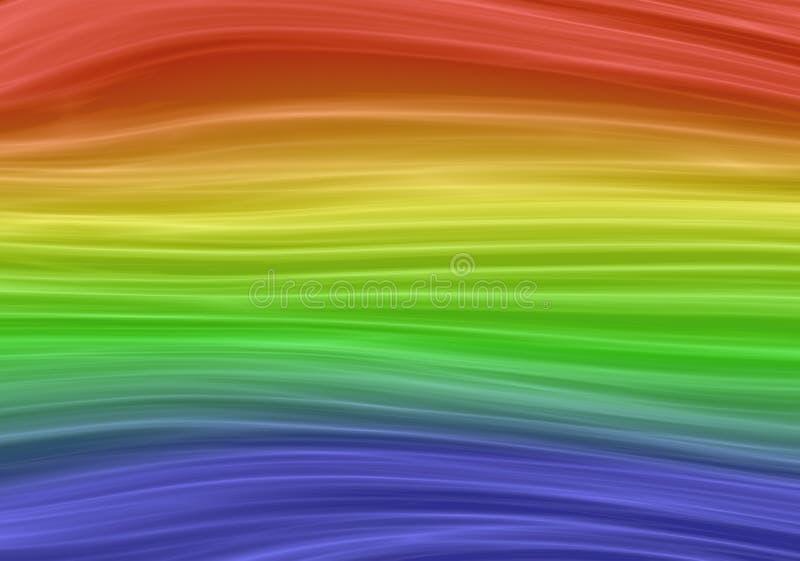Priorit? bassa astratta con i colori del Rainbow fotografie stock