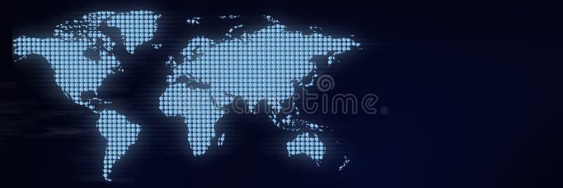 Priorit? bassa astratta del globo immagini stock libere da diritti