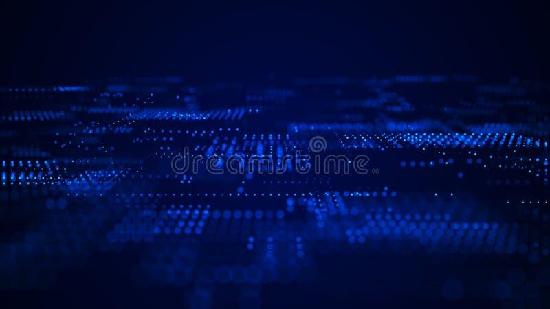 Priorit? bassa astratta di tecnologia Priorit? bassa astratta dello spazio Fondo di tecnologia digitale Codice macchina rappresen fotografia stock libera da diritti