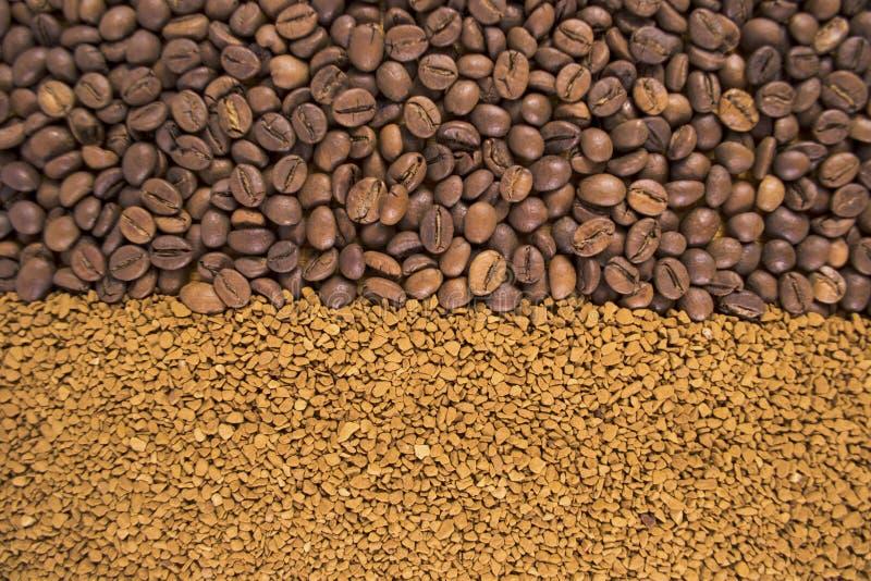 Priorit? bassa dei chicchi di caff? fotografie stock libere da diritti