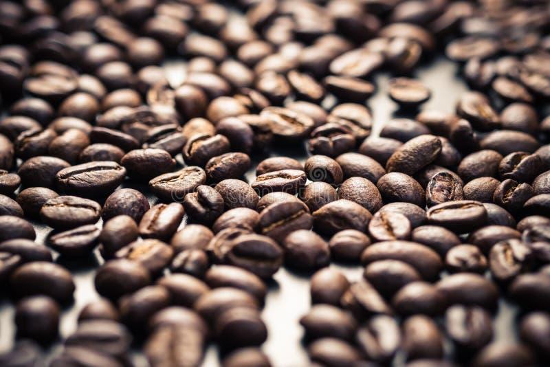 Priorit? bassa dei chicchi di caff? immagine stock