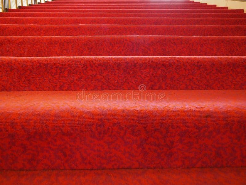 Priorit? bassa del tappeto rosso fotografie stock