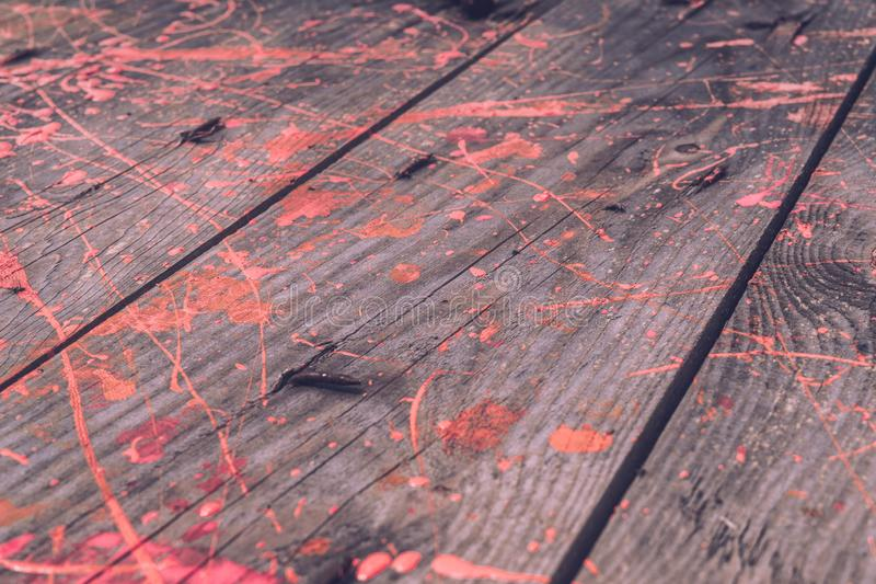 Priorit? bassa di stile di Grunge Bordi di legno anziani fotografia stock libera da diritti