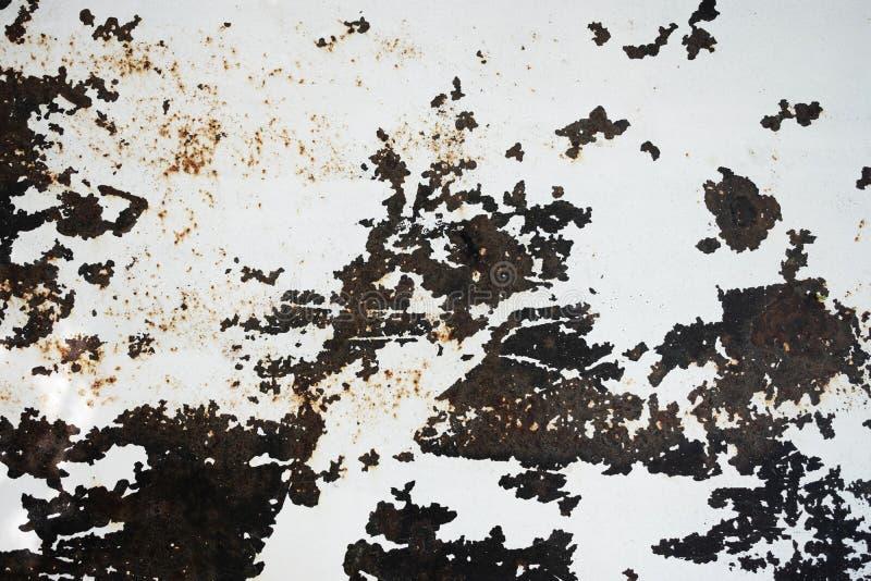 Priorit? bassa di struttura del metallo di Grunge Primo piano sparato di superficie in pavimento o parete immagine stock libera da diritti