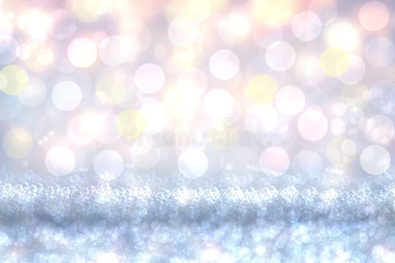 Priorit? bassa felice di festa Struttura variopinta festiva sveglia ed elegante astratta del fondo di estate con bokeh colorato s royalty illustrazione gratis