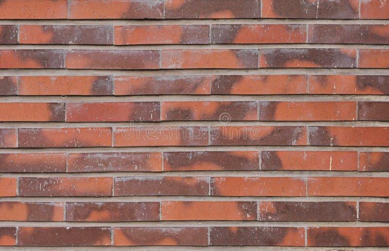 Priorit? bassa rossa di struttura del muro di mattoni immagine stock libera da diritti