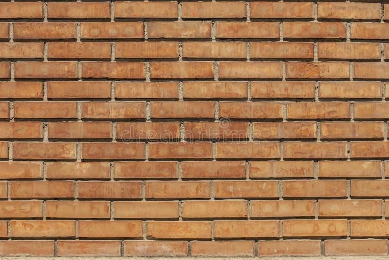Priorit? bassa rossa di struttura del muro di mattoni immagini stock