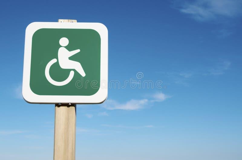 Prioriteit voor de gehandicapten stock foto's