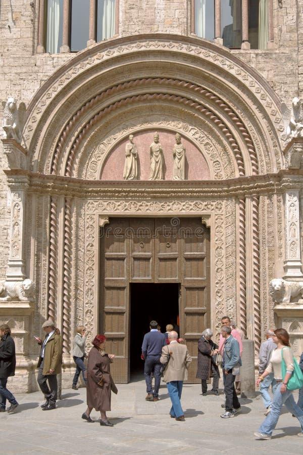 priors perugia дворца стоковое фото rf