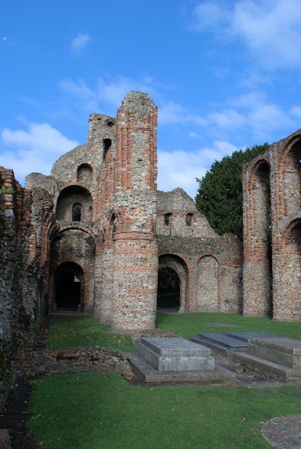 Priory de Colchester photographie stock libre de droits