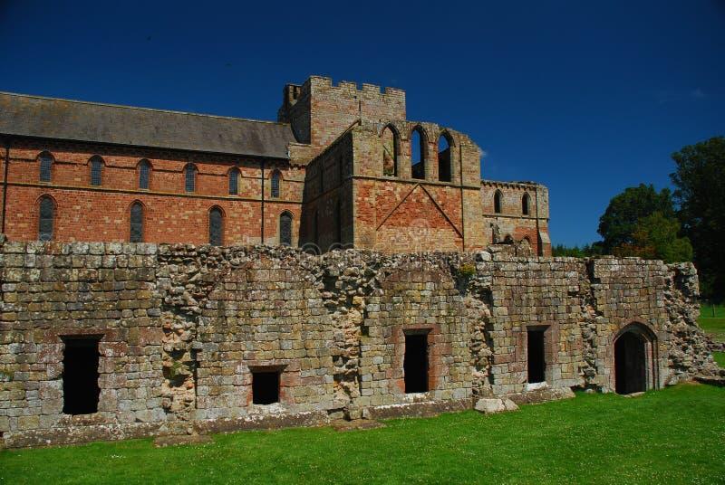Priory de Lanercost, Brampton, Angleterre images libres de droits