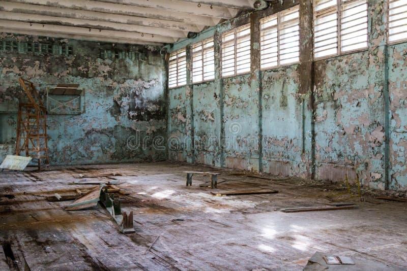 Pripyat鬼城在乌克兰 免版税库存照片
