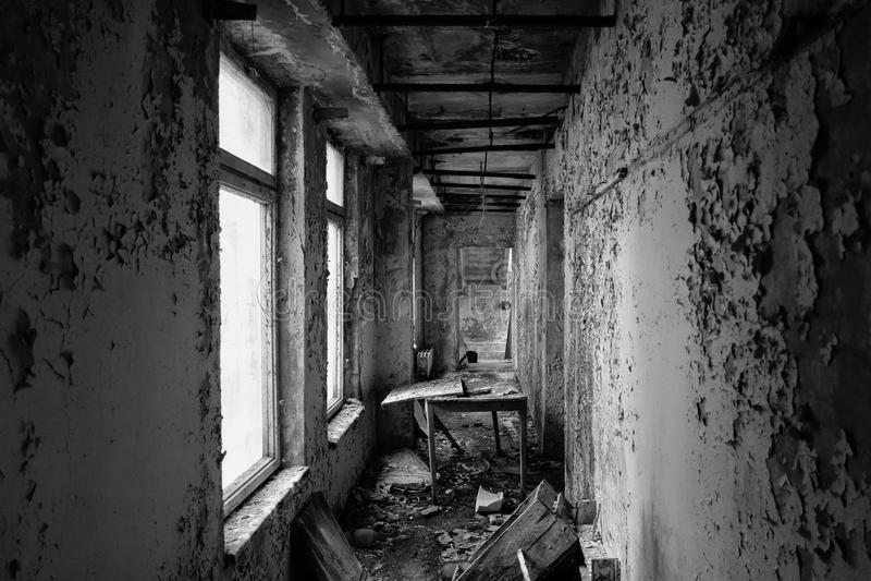 Pripyat -切尔诺贝利 库存照片