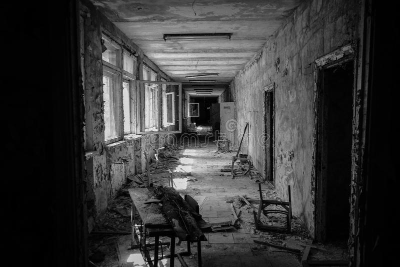 Pripyat -切尔诺贝利 免版税库存照片